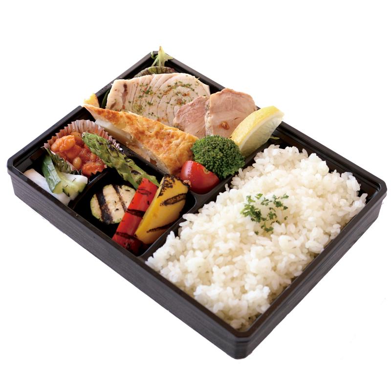 26季節野菜のグリル&お魚弁当